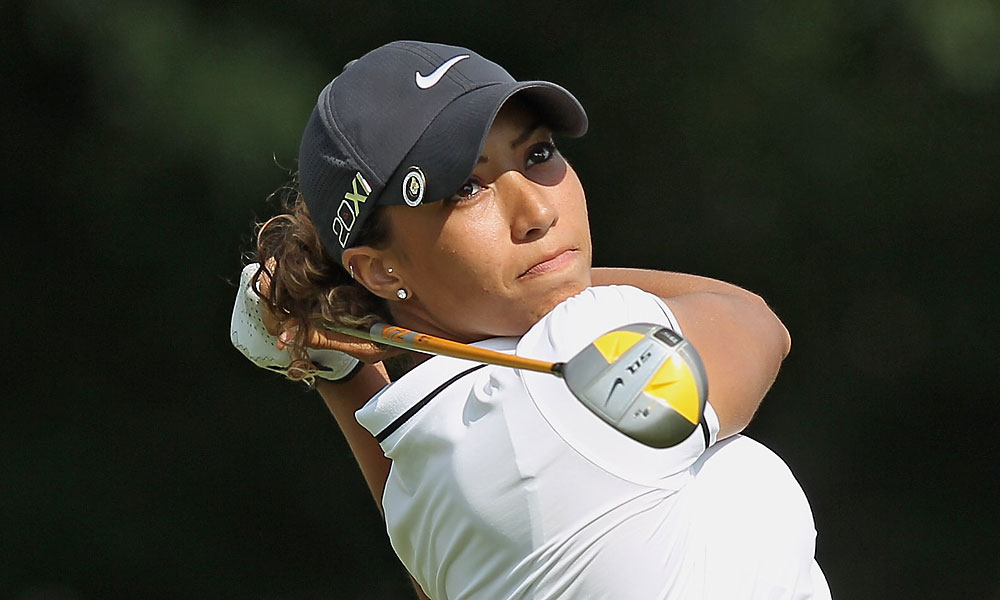 Cheyenne Woods, Tiger Woods's niece, missed the cut Friday in her pro debut after rounds of 75-79.