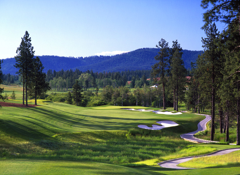 90. Circling Raven Golf Club                        Worley, Idaho -- $65-$95, cdacasino.com