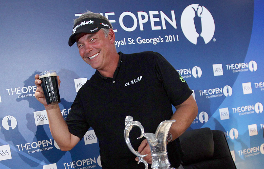 Darren Clarke                           Reason to Celebrate: Clarke finally broke through and won his first major, the British Open, at 42 years old.