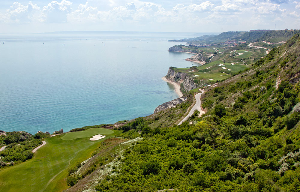 RUNNER-UP: Thracian Cliffs Golf & Beach Resort                       Cape Kaliakra, Bulgaria;