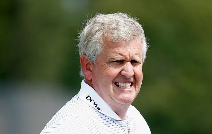 """I better get to the gym. I'm in trouble tomorrow. A 64-year-old knocking it past me. Now I'm in trouble. Crumbs.""                       --Colin Montgomerie on getting ready for his pairing with Tom Watson at the Senior PGA Championship."