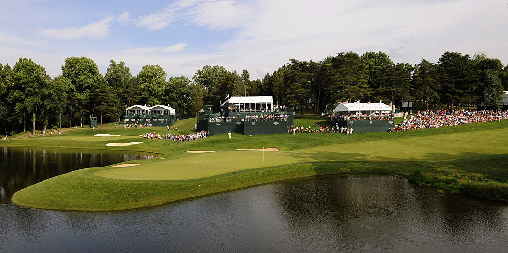 Congressional Country Club -- Bethesda, Md.Venue for Rory McIlroy's runaway U.S. Open win in 2011, among other historic majors, this course has endured more facelifts than Joan Rivers and Bruce Jenner combined. The par-3 10th proved dramatic enough, but outside of the tournament context, it's just another forced-carry water hole. Other than the crowd-pleasing par-4 18th (formerly the 17th, formerly the 18th), there's little to remember.