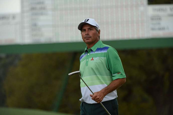 Fred Couples: B                       Cameron Morfit says:Yeah, okay, he sort of fell apart with his third-round 77, but what do you want? The man is 53! By hanging around the lead until going 5 over for his last five holes Saturday the ageless-at-Augusta Couples gave us our usual delightful dose of Freddy for most of the 77th Masters. Good for him; good for us.