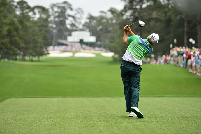 Fred Couples made six birdies and two bogeys for a 68.