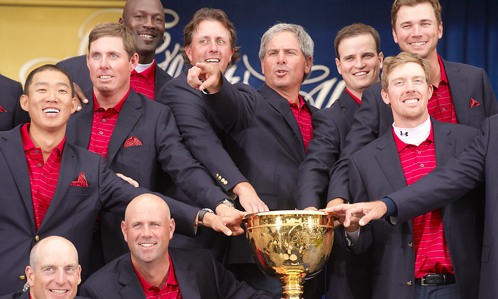 Couples captained the U.S. Presidents Cup team to victory in 2009 at Harding Park.