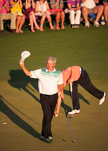Fred Couples                       A more recent convert, Couples has also found success on the Champions Tour -- and at the Masters -- while using a long putter.