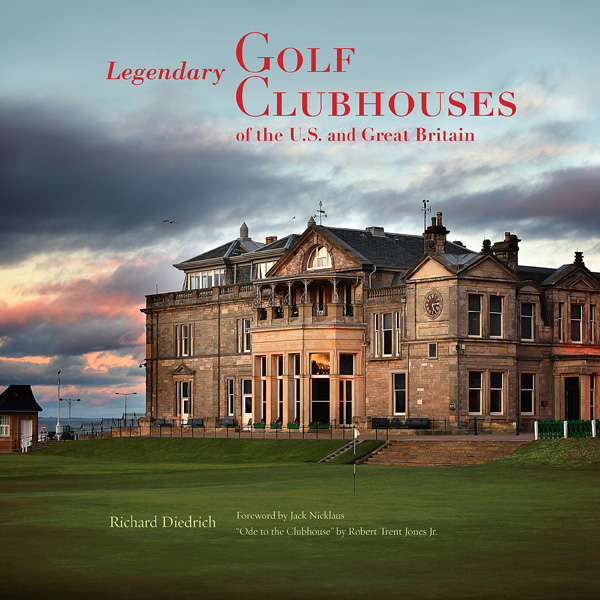 """Richard Diedrich, an architect who has consulted on more than 80 golf facilities, is releasing a book titled """"Legendary Golf Clubhouses of the U.S. and Great Britain."""" Here he shares some of his favorite photos and stories from his new book."""