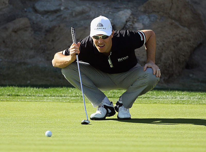 Ben Crane made an eagle, nine birdies and two bogeys to finish tied for the lead with David Toms and Mark Wilson.