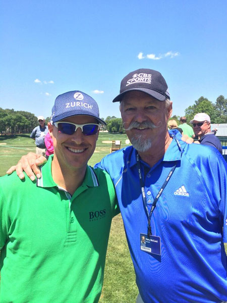 @BenCraneGolf: Spent some time with my mustache mentor Gary McCord. Can't stress how important it is to have people to look up to.