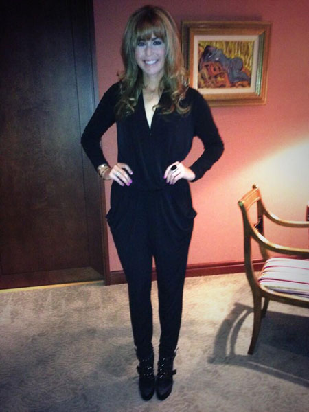@ThePCreamer: Dinner in Taipei tonight!!! #jumpsuit #finallygettorockboots #boots #fall
