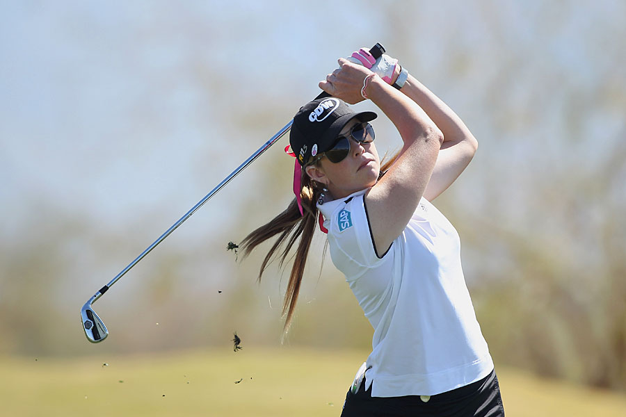 Paula Creamer shot a four-under 68 to move into contention.