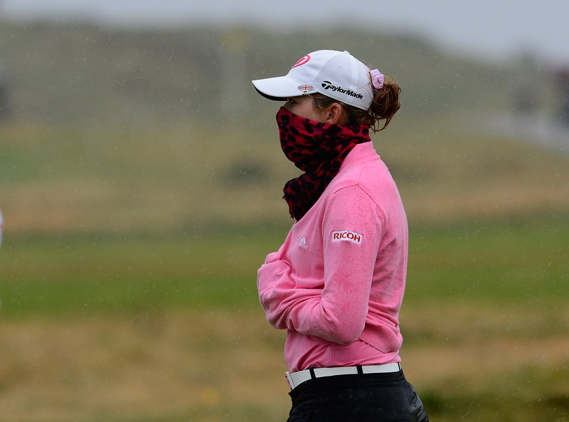 Paula Creamer made two birdies and an eagle in the last four holes to finish third.