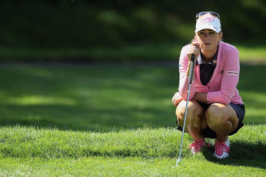Paula Creamer found herself one shot behind Se Ri Pak after the second round.