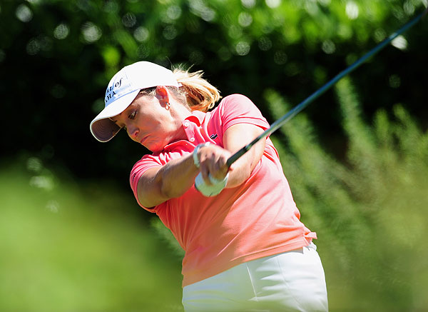 At 13 under par, Cristie Kerr finished one stroke short of making the playoff.