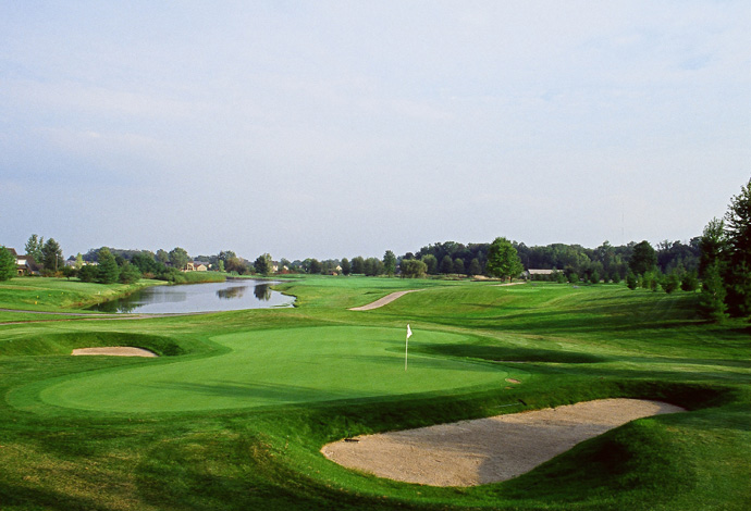 100. Crooked Stick                       Carmel, Ind.More Top 100 Courses in the U.S.: 100-76 75-5150-2625-1