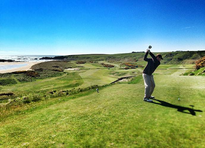 25. Cruden Bay, Cruden Bay, Scotland: Drenched in quirky charm, this certified cult classic is a personal favorite of both Pete Dye and Tom Doak. Situated 23 miles north of Aberdeen and ranked 79th in the world, Cruden Bay offers one wild seaside hole after the next.