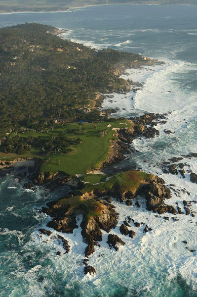 Cypress Point Club -- No. 16, 231 yards -- Pebble Beach, Calif.                       A lot of experts say this is the greatest hole in golf. Period. Never mind one of the finest par 3s on the planet. Giving Alister MacKenzie this otherworldly plot of land established a standard that other architects might rightly call unfair. Play this one and you instantly have your eternal go-to golf story.