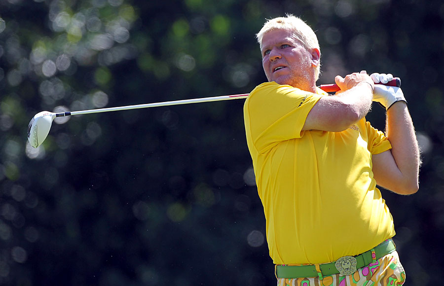 John Daly made the cut on the number.