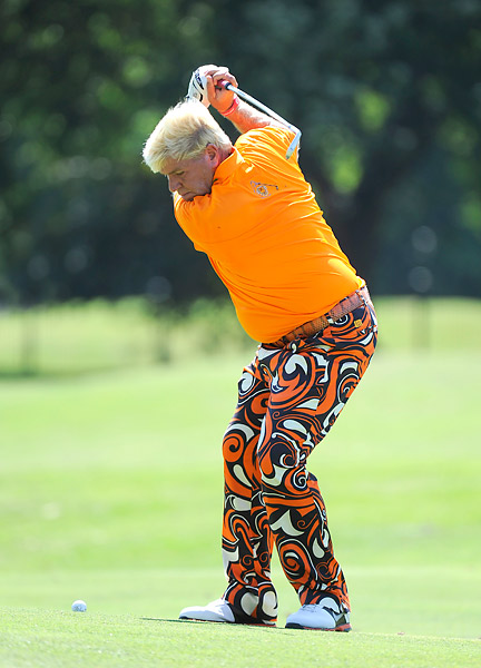 John Daly matched McIlroy and Harrington at two under.