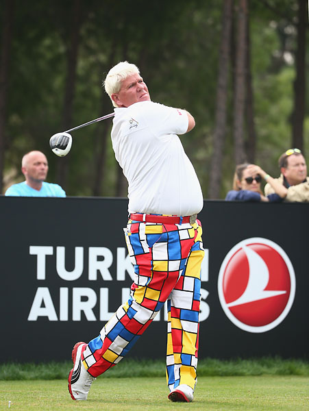 """I don't like what everybody's done with Tom. Tom's a legend of the game of golf, and you know, he's one of the nicest guys I've ever met. He's always tried to help me any time I was in trouble, or if I needed help, whether it's positive or negative.""                       --John Daly on criticism of Tom Watson following Team USA's Ryder Cup."