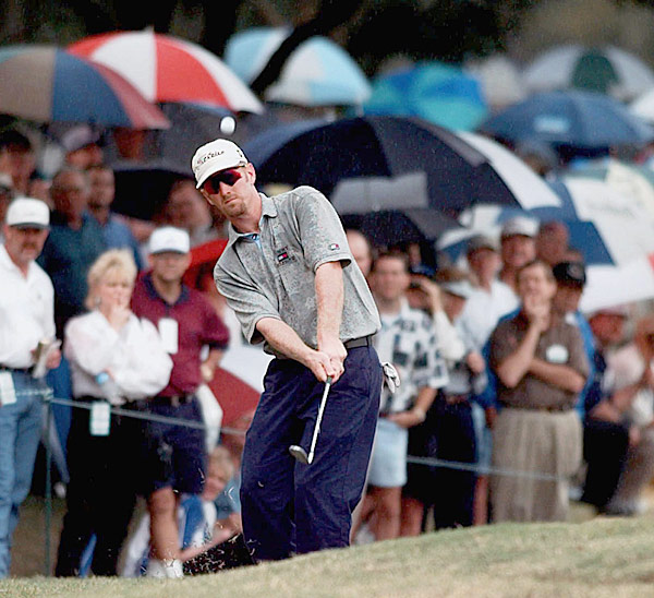 2. 1997                            Champions Golf Club, Houston                           Purse: $4 mil. Winner's share: $720,000                           Winner: David Duval (-11)                                                      When Duval joined the PGA Tour in 1995, the four-time All-America at Georgia Tech piled up runner-up finishes instead of wins, coming in second seven times during his first 2 1/2 years on Tour. Then something clicked at the end of 1997. He won the Michelob, and the next week at the Disney he became the first player since Billy Andrade in 1991 to have his first two wins come in consecutive starts. At the Tour Championship, he won his third straight start. The payday vaulted him to second on the final money list, with $1.9  million.