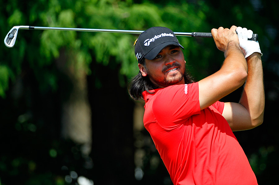 Jason Day is three shots back after a 68.