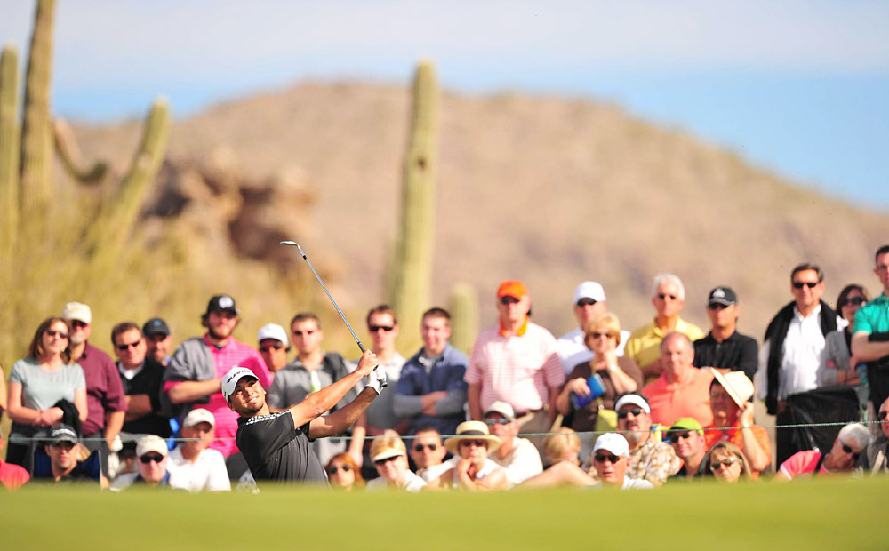 Jason Day's first big tournament of the year was the WGC-Accenture Match Play Championship in February. Day won two matches and finished T9 for his second top 10 of the season.