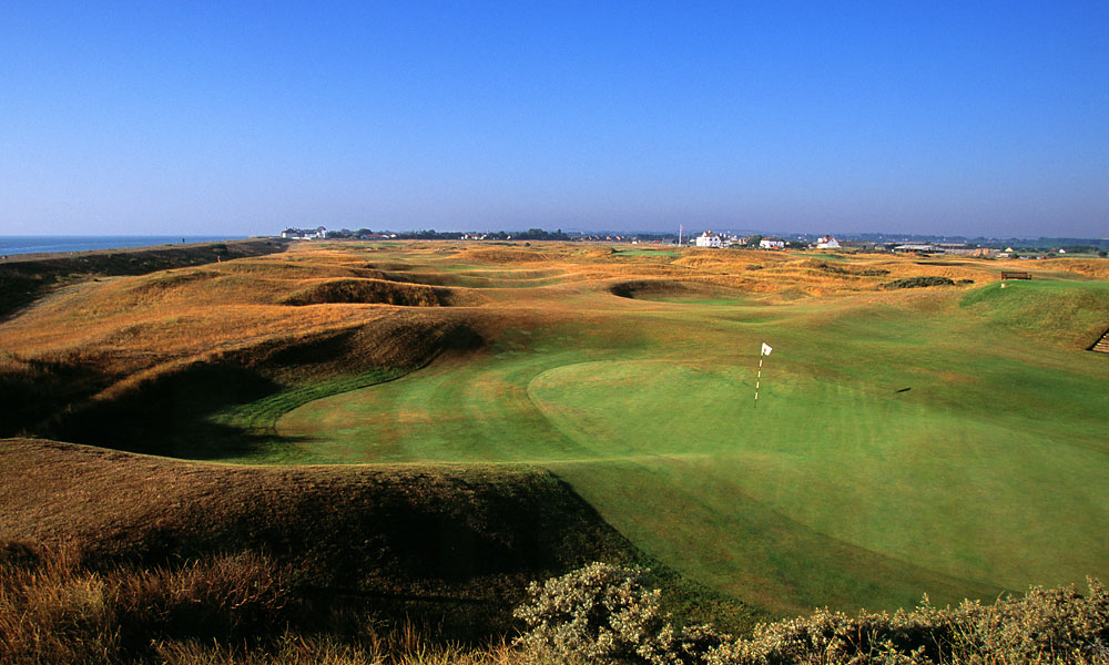 Formally known as Royal Cinque Ports, Deal is the most southerly and least used Open venue — just two titles were contested here. J.H. Taylor won in 1909 and George Duncan in 1920.