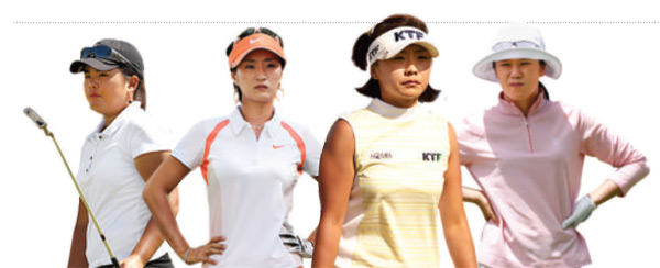"NO. 9 - 1.2%                                                      The LPGA says that all players must speak English or be suspended, but then backs down.                                                      ""Hard to keep track. Too many Kims and Parks."" — PGA Tour Pro K.J. Choi of South Korea, when asked if he follows the Koreans on the LPGA Tour."