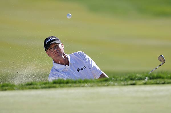 Steve Stricker is also at even par after a first round 72.