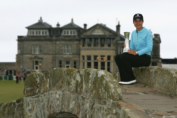 Best gender barrier-breaking event: Lorena Ochoa winning the 2007 Women's British Open at St. Andrews                           Ochoa, the top player in women's golf, won the 2007 Women's British Open, the first women's event held at the Old Course, which is the home of the male-only R&A. It was Ochoa's first major championship, making her the first player since Tony Lema in 1964 to win that first career major at the Old Course.