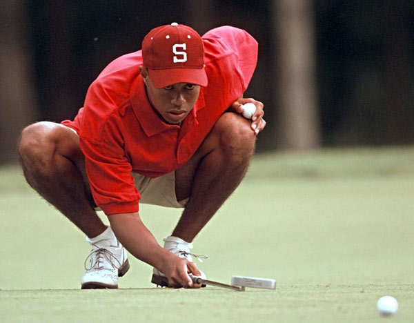 3. Stanford                           How good have the Cardinal been in recent history? Well, Tiger Woods went to Stanford and the team got ... worse. Really. The Cardinal won the NCAAs in the spring of 1994, but then Woods arrived that fall and the team finished second in the '95 NCAAs and fourth the following year. (Tiger did win an individual NCAA crown, in '96, and then quit school.) Stanford has a long history of success, having won six NCAA titles between 1938 and '53. Also, Tom Watson played at Stanford, graduating in 1971.                                                      The Cardinal got back into the NCAA winner's circle last June with a wire-to-wire 12-shot victory. The defending national champions are currently ranked ninth in the nation, and they're led by senior Rob Grube, who finished third at the '07 NCAAs, and Sihwan Kim, a freshman who has a team-best 71.6 scoring average.