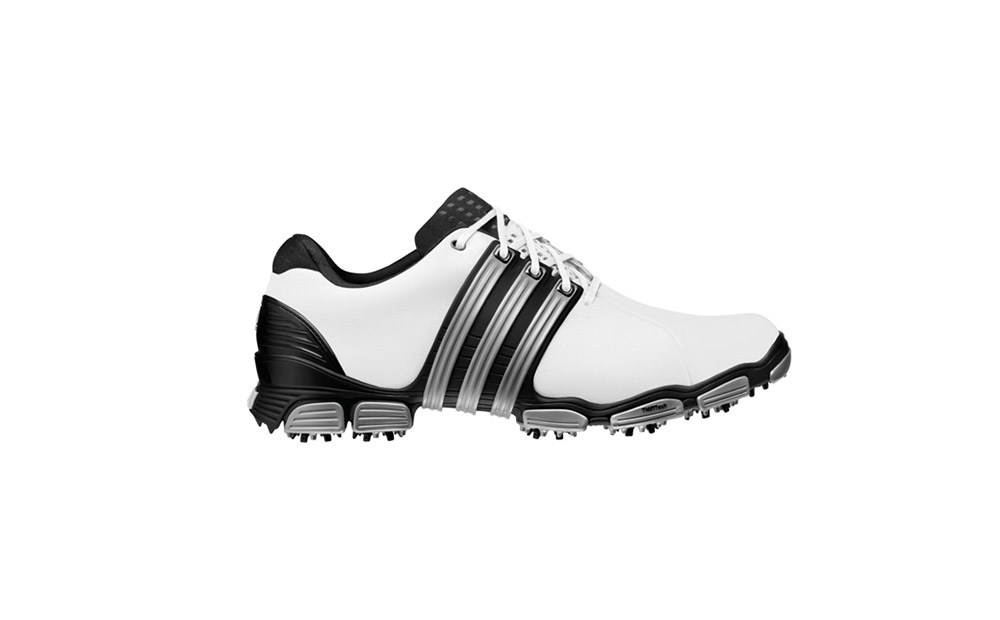 Adidas Tour 360 4.0 Golf Shoe                       Featuring 360 wrap technology and an interior lining designed for temperature control, Adidas' Tour 360 4.0 shoes balance stability with cool comfort. If you order them at Overstock.com you can get Friday delivery if you order by noon on the 22nd, or you can go down to the wire for Saturday delivery by 11 a.m. on the 23rd.