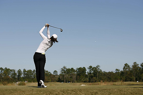 First Round of LPGA Qualifying School                       Michelle Wie opened the first round at the final stage of Q-school with a 69.