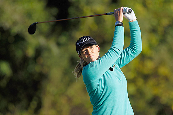 shot her third 71 in a row to move to three under. If Kerr wins she will be named LPGA Player of the Year.