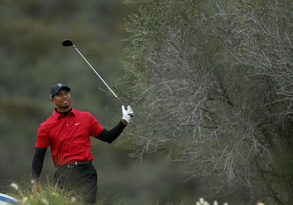 Woods's game was not has sharp in the final round as it had been in the previous three.