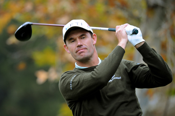 """Padraig Harrington said after the first hole, his swing didn't feel right all day. """"I must have got out of bed on the wrong side or something,"""" Harrington said. """"Something wasn't right today. I played great yesterday, played good the first day, played horrible today. Who know what will happen tomorrow?"""""""