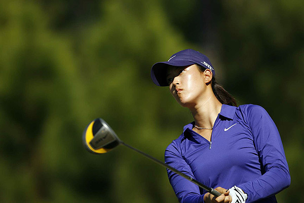 Third Day at LPGA Q-School                           Michelle Wie was even par in her round on Friday.