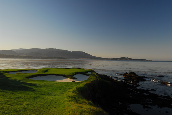 Pebble Beach Golf Links | Pebble Beach, Calif.                       pebblebeach.com, Where in the World photo of the day on Dec. 9