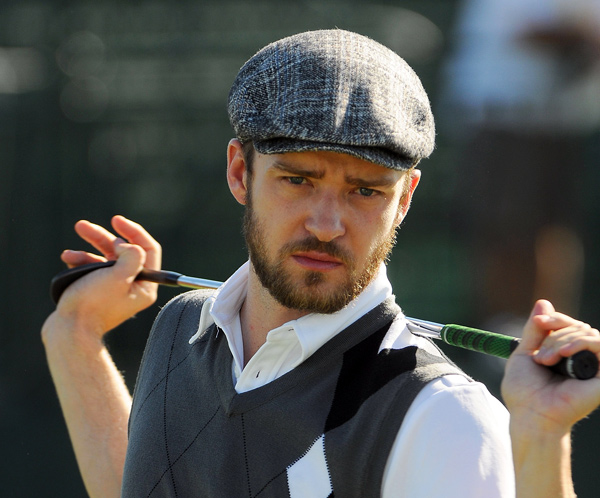 "The Man of the People: Justin Timberlake, 28, giving a ""green"" course                       back to his hometown of Memphis."