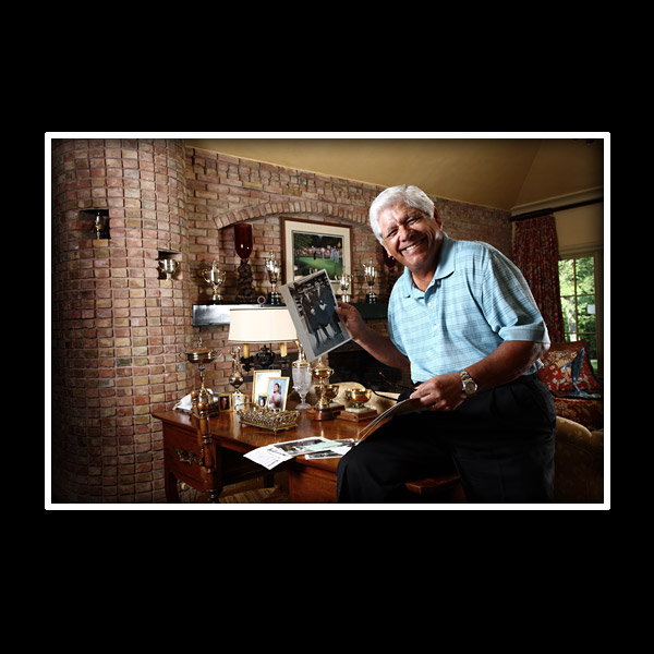 Lee Trevino has played golf with                       a U.S. president, shared a tee box                       with a chimpanzee, and been struck                       by lightning. The man has stories.                       We presented him with a photographic                       celebration of his colorful career.                       In return, we got Trevino at his                       entertaining best. Enjoy the show.