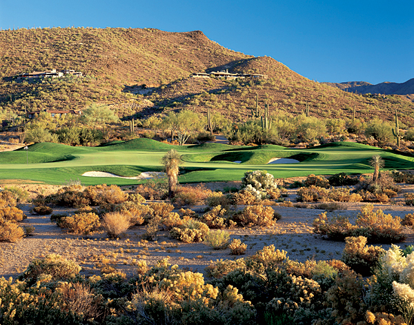 "Desert Mountain Golf Club (Renegade course), Scottsdale, Ariz.                       One respected critic called this private spread ""the most versatile course in the world,"" and it's easy to see why. Each hole at Renegade features two greens, or else one green with two flagsticks. The Gold flags are usually farther away and more fiercely guarded by contour or hazards while the white flags allow for more run-ups, with softer surrounds. Want to work on your iron game? Play a short set of tees and go for the gold flags. Or smack it from the tips and play stress-free to the white flags. Have it your way — that's the operative phrase at the aptly named Renegade."