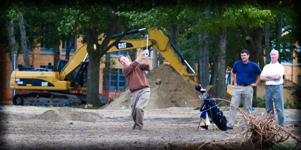 The facility will include a driving range, putting green, practice bunker and up to six short par-3s.
