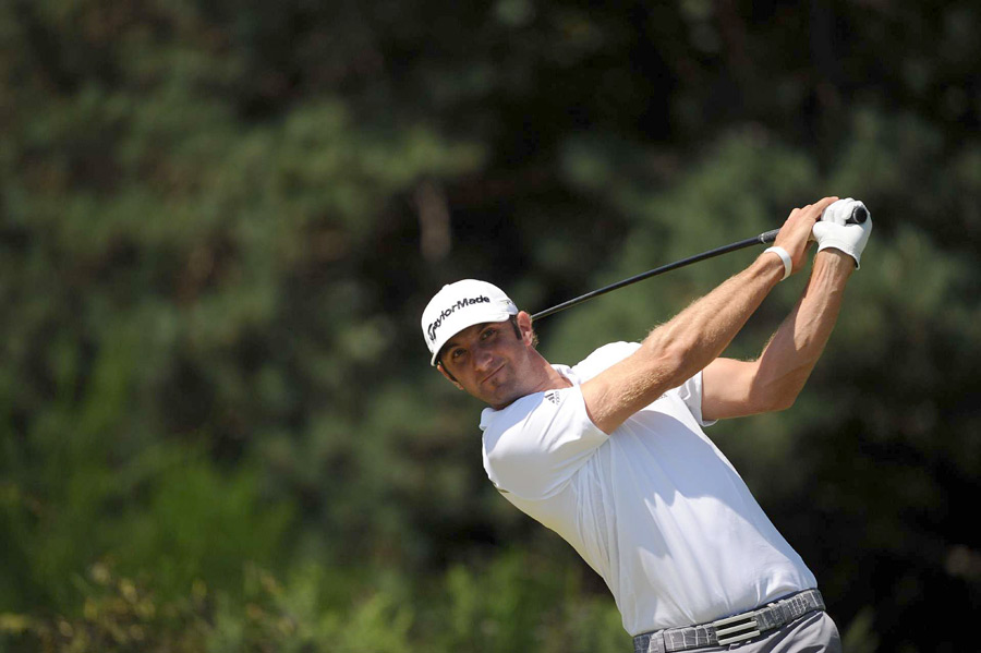 Dustin Johnson recorded his second straight top 10 at the Open.