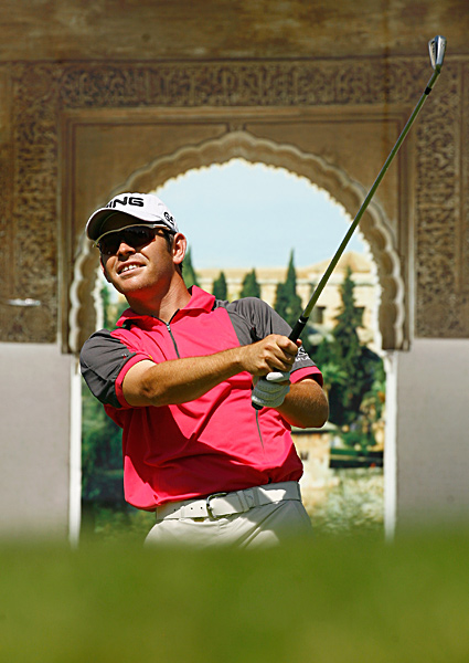 7. Louis Oosthuizen Sunshine tour Once  a nationally ranked tennis  player in South Africa, Oosthuizen,  25, smashed-volleyed his home  country's pro tour, winning half of  the six tournaments he entered.