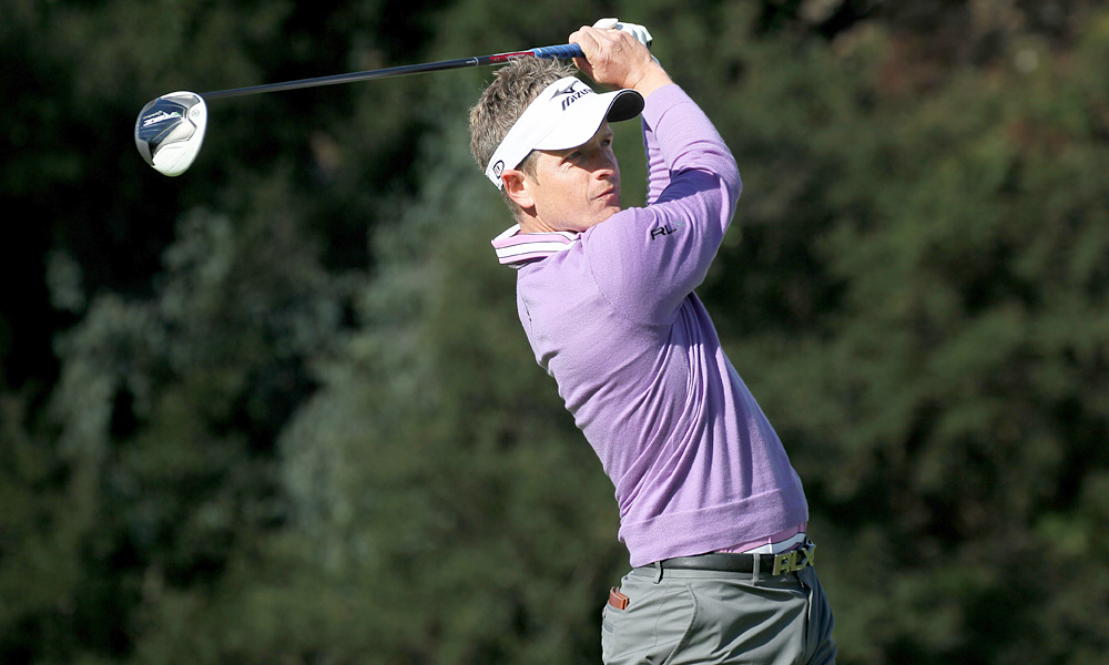 World No. 1 Luke Donald opened with an uneventful one-under 70.