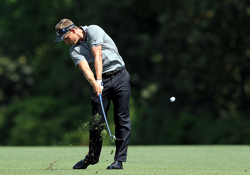 Still in search of his first major, world No. 1 Luke Donald shot a three-over 75.