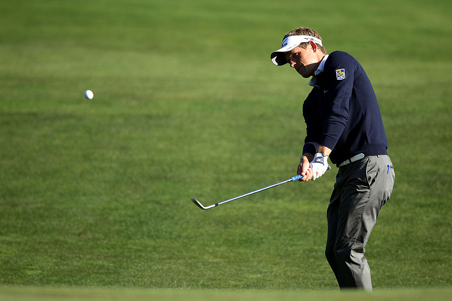 World No. 1 Luke Donald has yet to win a major.