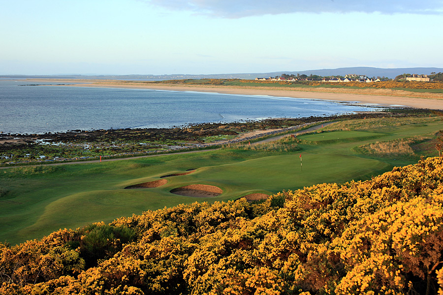 "10. Royal Dornoch Golf Club -- Dornoch, Scotland                       Traipsing along the firm, sand-based fairways, amid the yellow-blooming gorse bushes and panoramas of the Dornoch Firth, you're constantly reminded how joyous a great golf walk can be. After Tom Watson played here prior to his 1980 British Open win at Muirfield, he remarked that the experience was ""the most fun I've ever had on a golf course."" Elementary, my dear Watson."