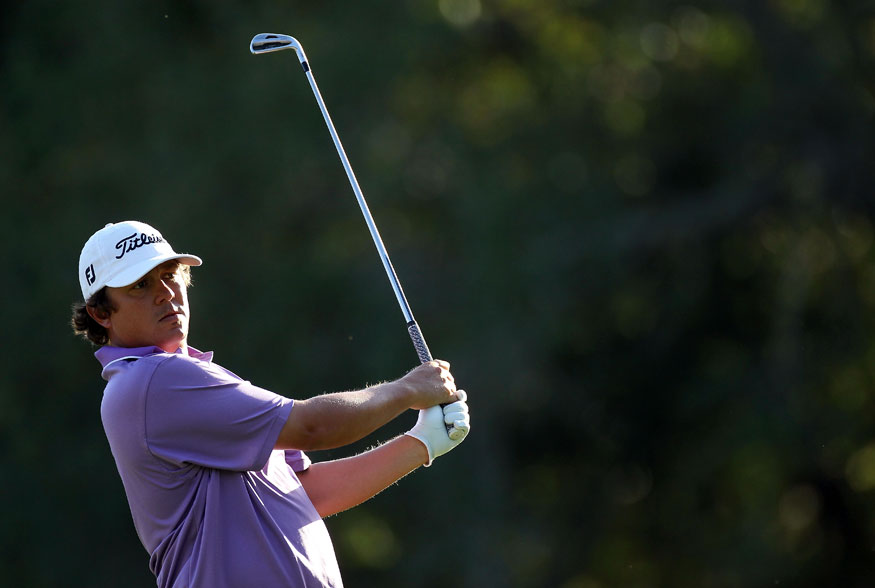 Jason Dufner grabbed a two-shot lead after a five-under 66.